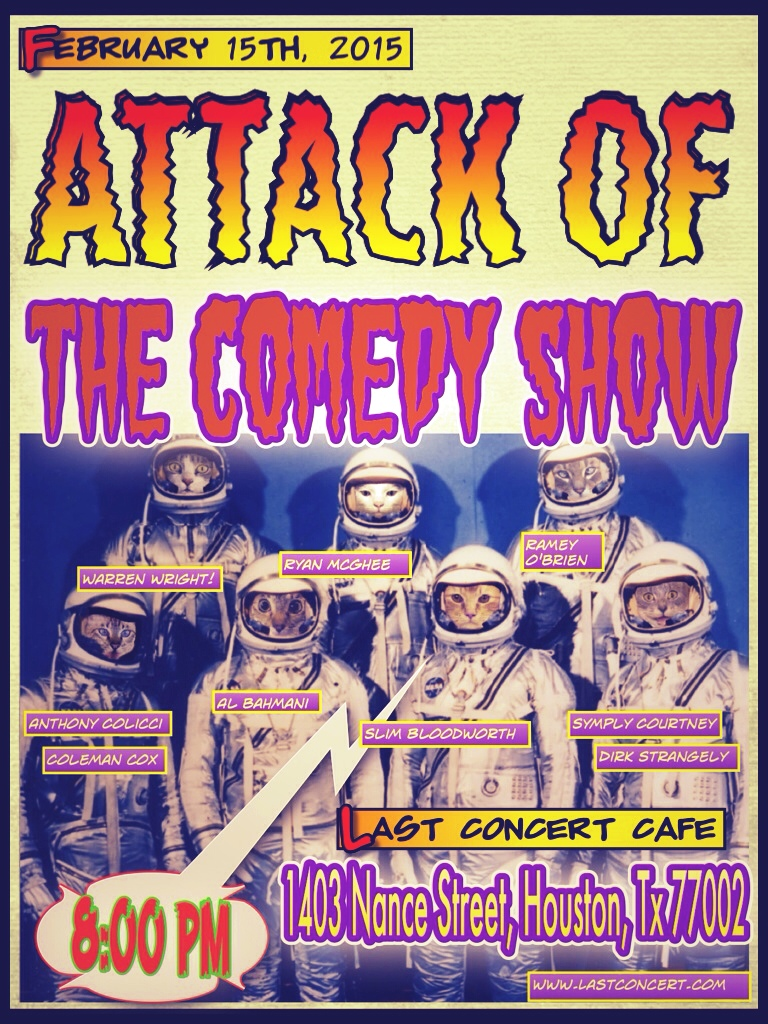 Attack of the Comedy Show: Twice the funny, half the fleas!