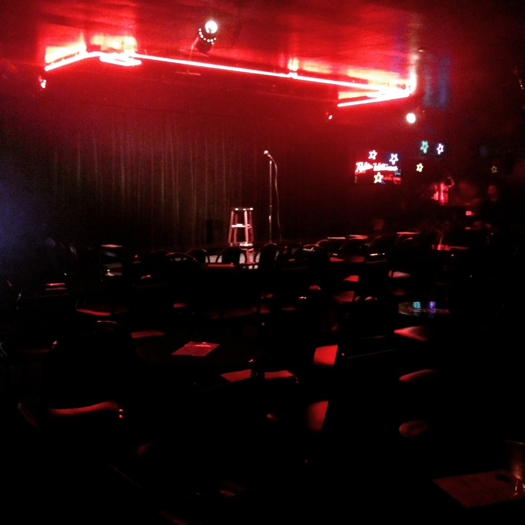 The Comedy Store Original Room calm before the show.