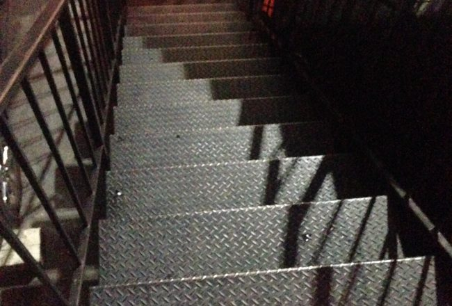 The 12 Steps to The Comedy Store's Belly Room, only 12 steps most comics have completed.